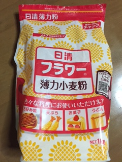 小麦粉の特性グルテンは粘り気?ケーキや天ぷらの失敗する原因は?