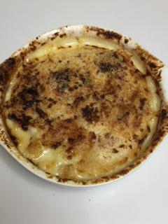 最高のポテトグラタン!デルモニコ風って?牛乳とクリームとチーズで作る?