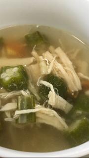 オクラのスープ?旬の野菜で作るポタージュ!美味しいだけでなく栄養も!