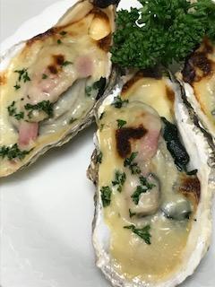 冬限定の牡蠣とホウレン草のグラタン!簡単で美味しいフロレンティン風って?
